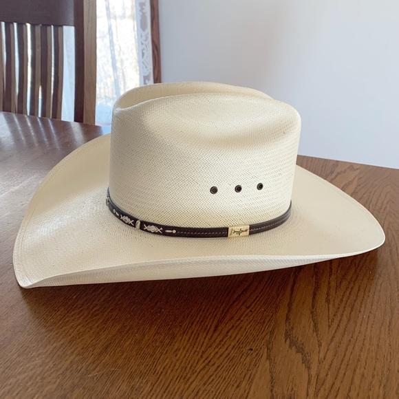 a0a6d153 Resistol Accessories | Mens George Strait Cowboy Hat Size 75 | Poshmark